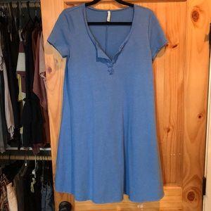 Z Supply Blue Dress